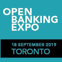 Open Banking Expo's Toronto conference logo.