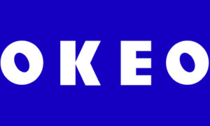 The OKEO logo
