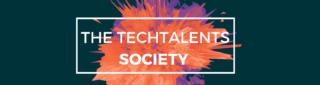The TECHTalents Society logo
