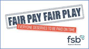FSB's #FairPayFairPlay campaign logo